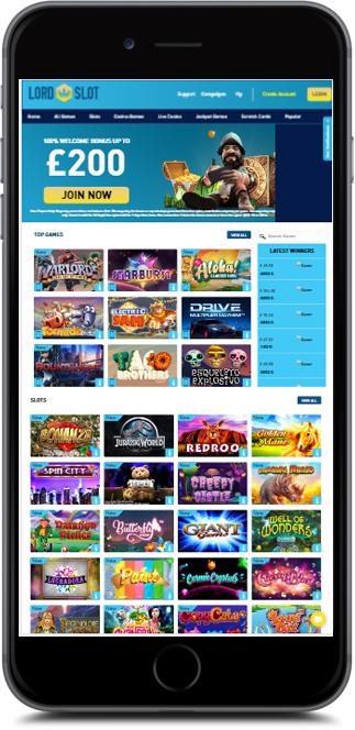 Lord Slot Casino No Deposit Bonus