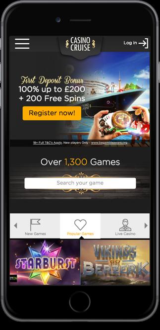 Casino Cruise 55 Free Spins