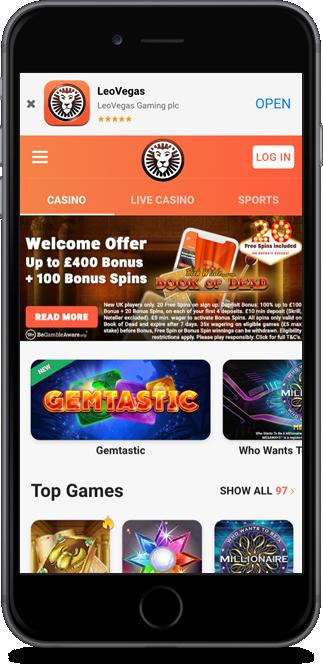 leovegas casino no deposit