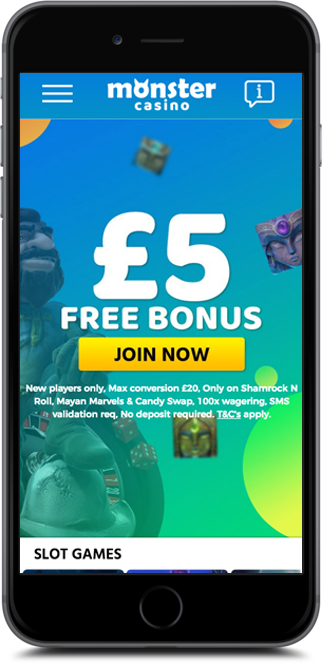 monster casino no deposit bonus