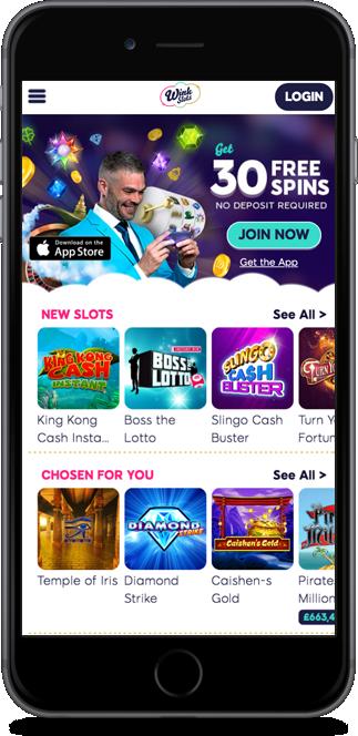 wink slots casino no deposit