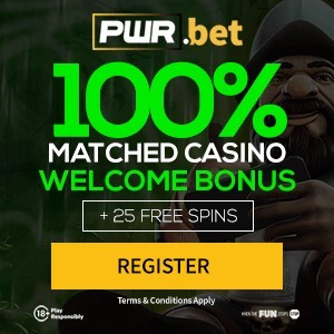 PWR.Bet Casino: 5 No Deposit Free Spins + 25 Free Spins!