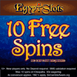egypt slots no deposit