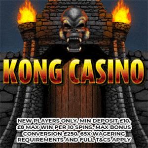 kong casino bonus
