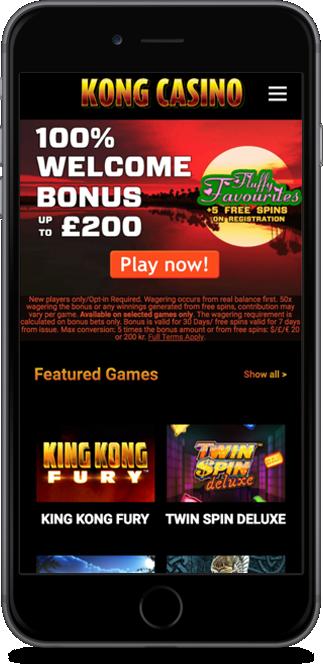 kong casino no deposit bonus