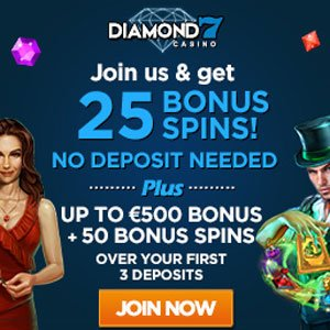diamond7 casino no deposit