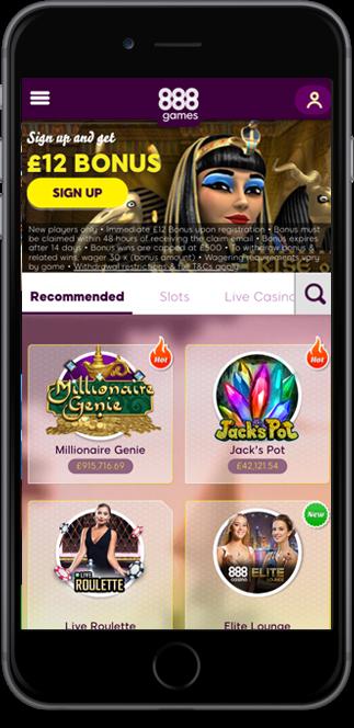 888 games casino no deposit bonus