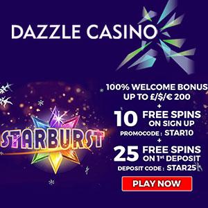 dazzle casino free spins no depisit bonus