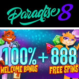 paradise 8 casino free spins
