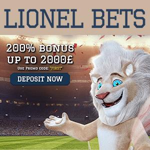 lionel bets casino bonus