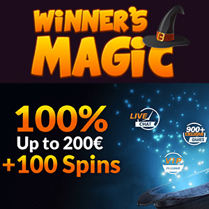 winners magic casino bonus