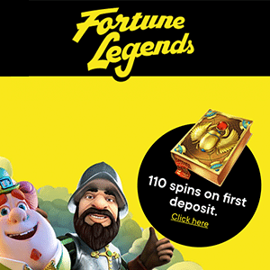fortune legends casino bonus