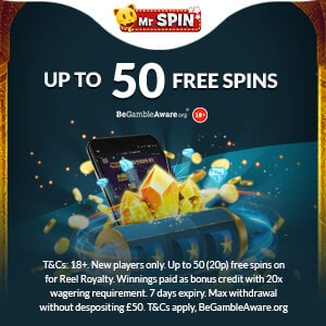 mr spin casino no deposit bonus