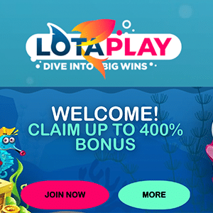 lotaplay casino bonus