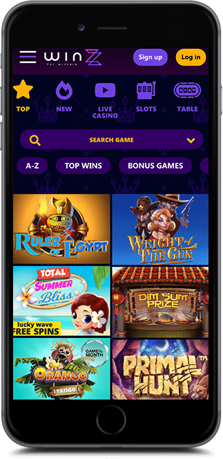 winzz casino bonus