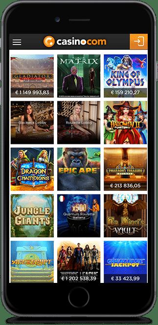 casino.com no deposit bonus