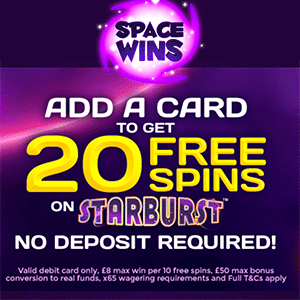 space wins casino bonus