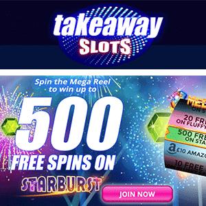 takeaway slots casino bonus