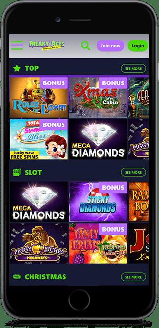 freaky aces casino no deposit bonus