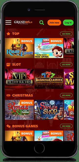 grand wild casino no deposit bonus