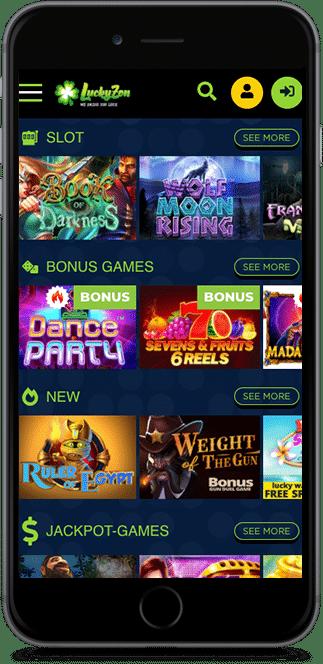 luckyzon casino no deposit bonus
