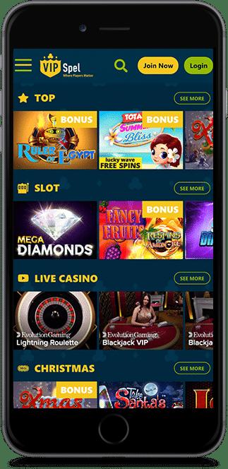 vip spel casino no deposit bonus