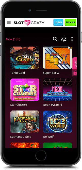 slot crazy casino no deposit bonus