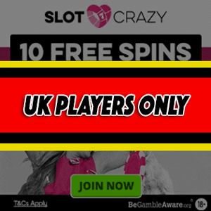 slot crazy casino no deposit bonus