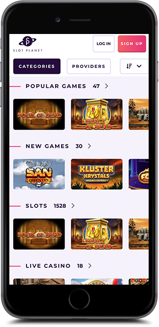 slot planet casino bonus