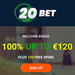 20 bet casino bonus