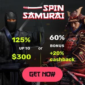 spin samurai casino bonus