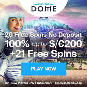 casino dome no deposit bonus