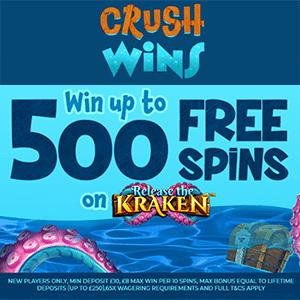 crush wins casino bonus