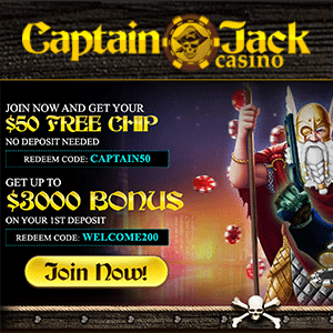 captain jack casino no deposit bonus