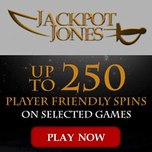 jackpot jones casino bonus