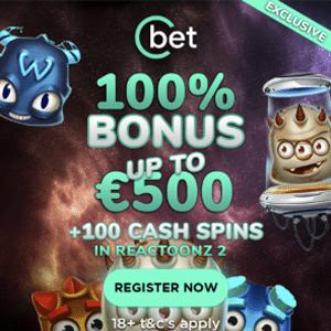 cbet casino bonus