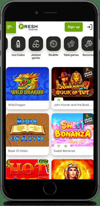 fresh casino no deposit bonus