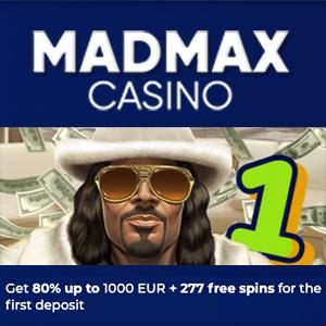 madmax casino bonus