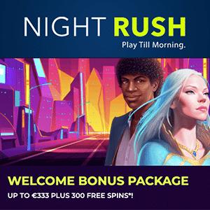 night rush casino bonus