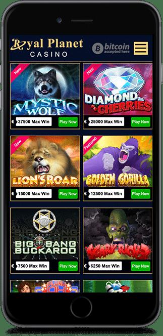 royal planet casino bonus