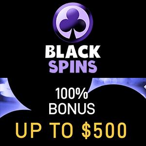black spins casino bonus
