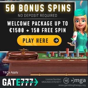 gate777 casino no deposit bonus