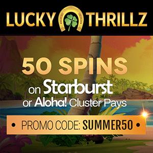 lucky thrillz casino bonus