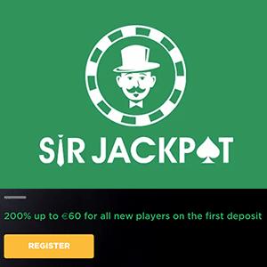 sir jackpot casino bonus