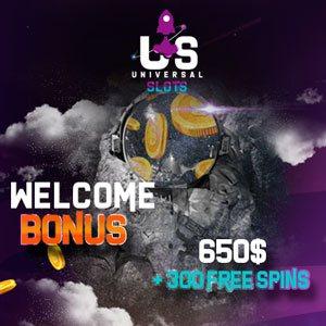 universal slots casino bonus