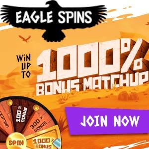eagle spins casino bonus