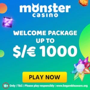 monster casino bonus